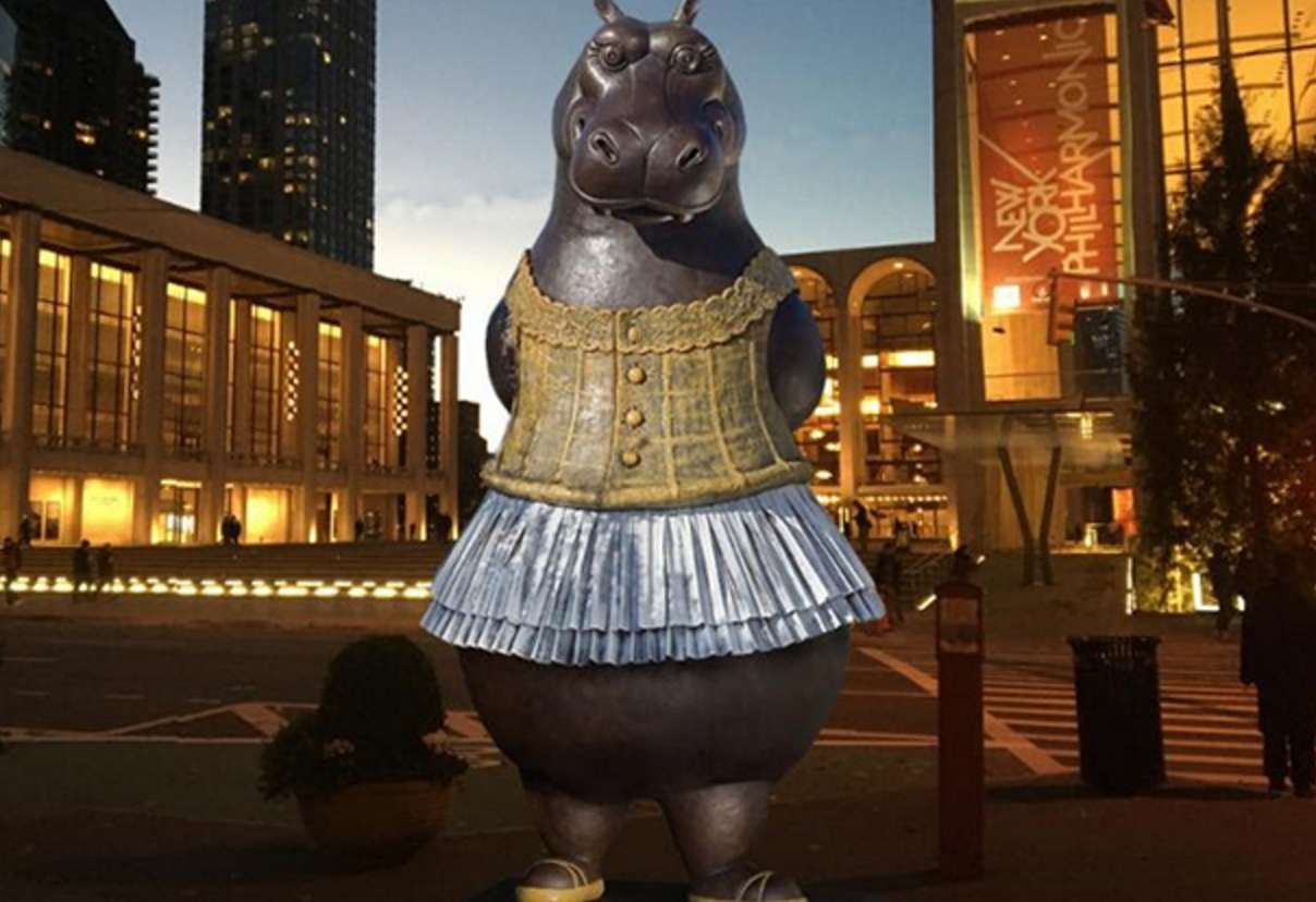 Hippo Ballerina