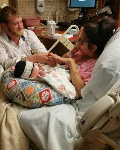 Newborn Pulled Off Surprise