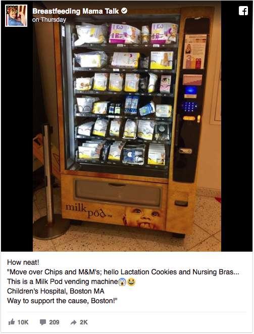 Milkpod Vending Machine