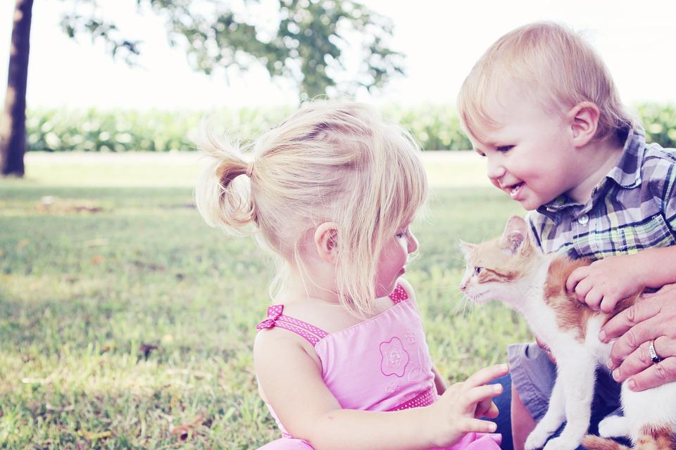 Children love their pets