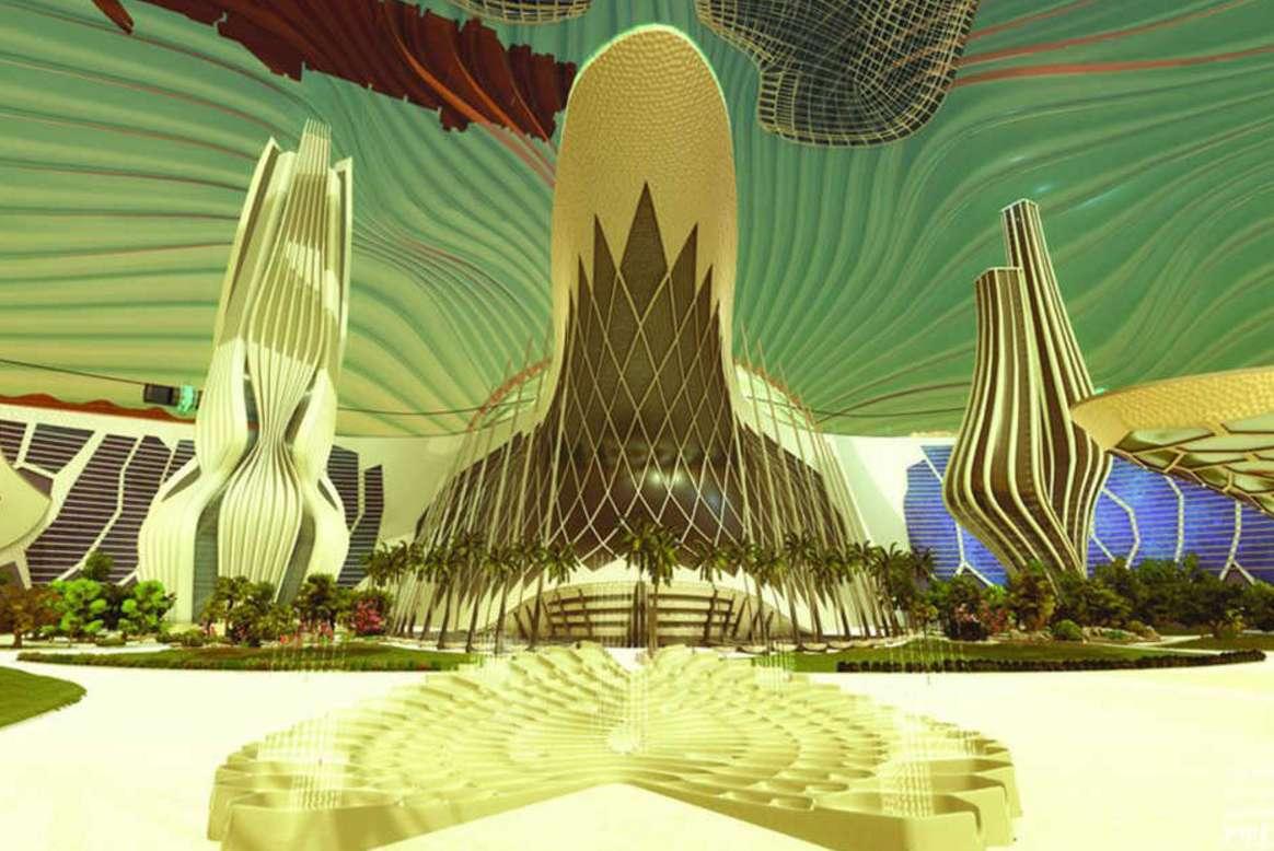 united arab emirates first city mars 2117
