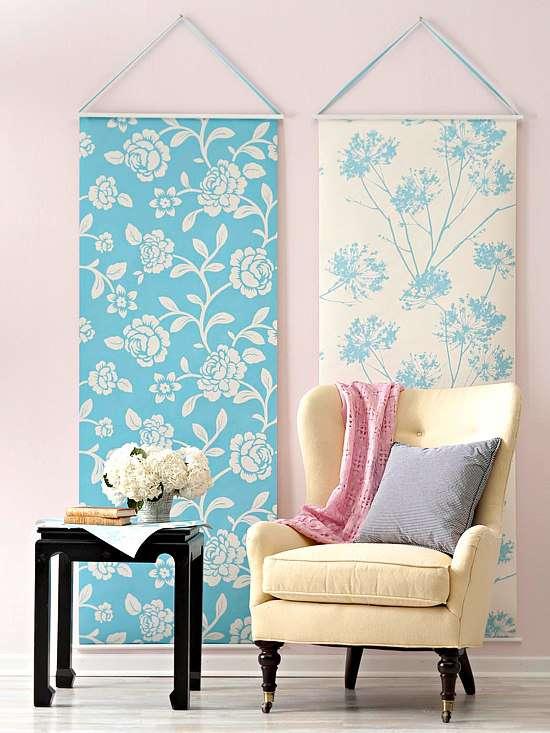 DIY-ideas-for-leftover-wallpaper-patchwork